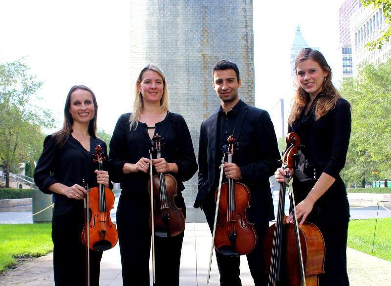 About Cloud Gate String Quartet
