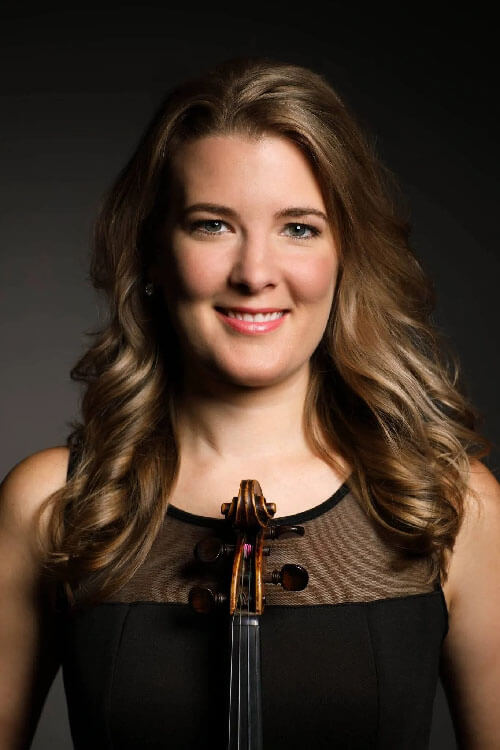 Cloud Gate String Quartet Violinist Emily Nash