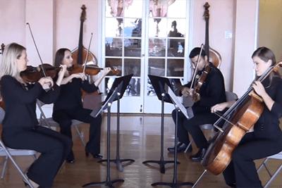 Pachelbel Canon Cloud Gate String Quartet